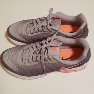 Grey and Orange Nike